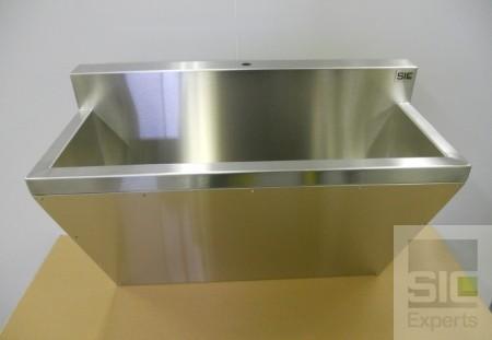 Évier de brossage acier inoxydable SIC31281