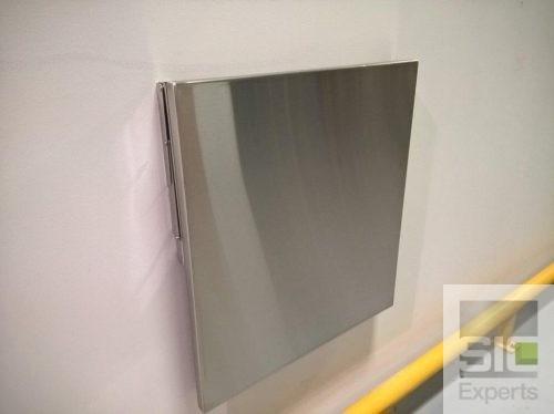Tablette rabattable acier inoxydable SIC33278