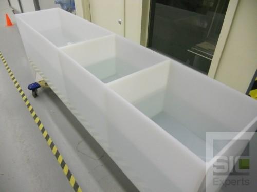 Bassin de trempage en plastique