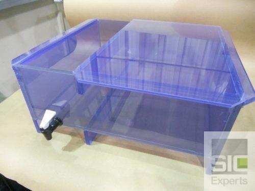 Bassin plastique PVC clair SIC29515