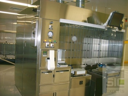 Cabine de pesée pharmaceutique SIC25144