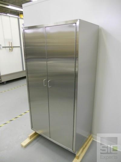 Cabinet acier inoxydable laboratoire SIC30718