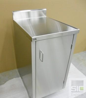 Cabinet acier inoxydable sur mesure SIC30633
