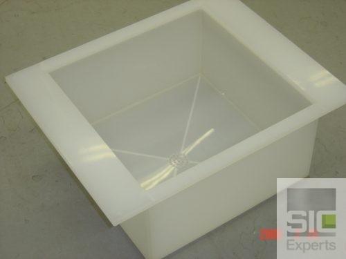 Cuve polypropylène pour banc humide