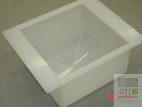 Cuve polypropylène pour banc humide SIC22220