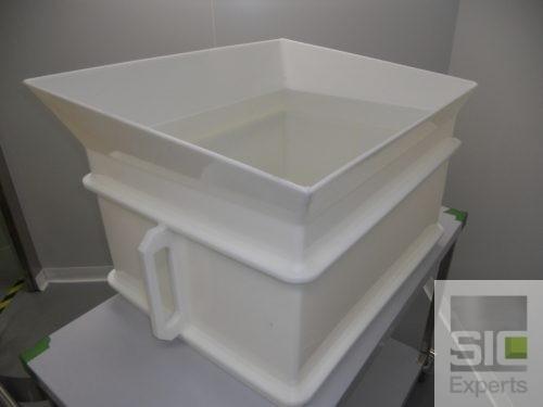 Entonnoir plastique alimentaire