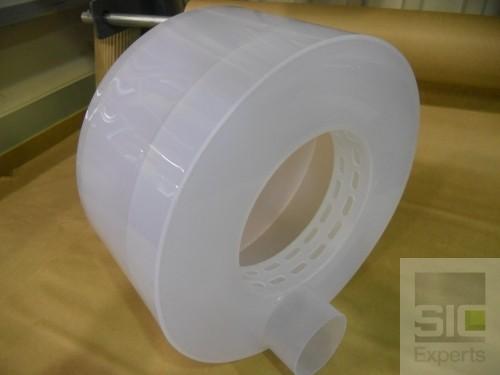 Entonnoir plastique industriel
