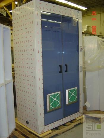 Hotte cabinet polypropylene