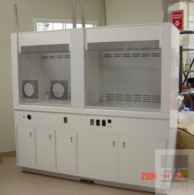 Meuble laboratoire en plastique