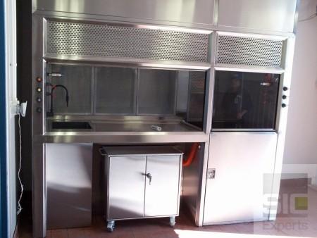 Mini-environnement laboratoire salle propre