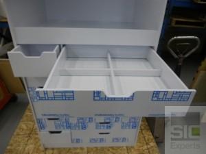 Mobilier de laboratoire en plastique SIC27854