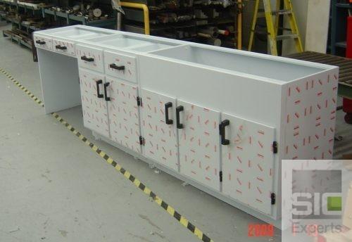 Mobilier industriel plastique