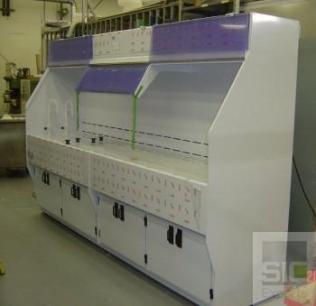 Paillasse laboratoire mobilier