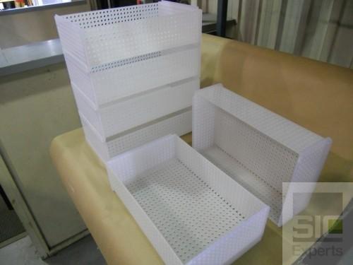 Panier plastique empilable SIC29760