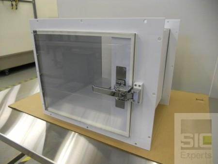 Passe plat laboratoire en polypropylène SIC30750