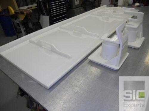 Réparation plastique par soudage
