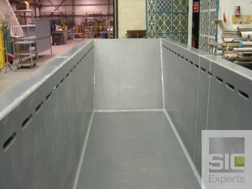 Réparation réservoir plastique