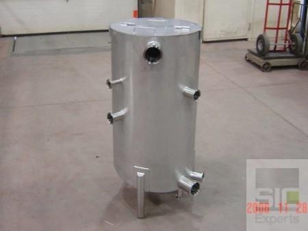 Réservoir acier inoxydable sanitaire