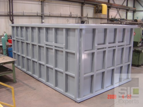 Réservoir pour produits chimiques
