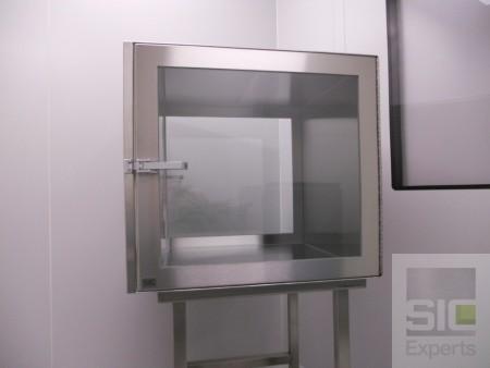 Sas de transfert salle blanche SIC28440