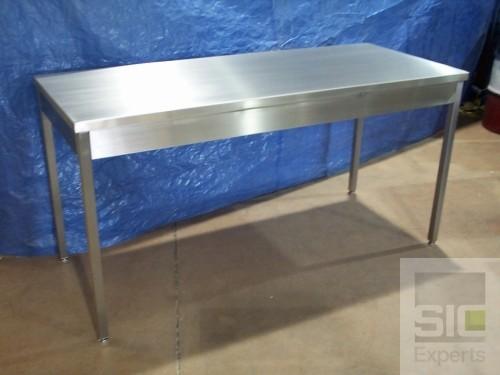 Table acier inoxydable