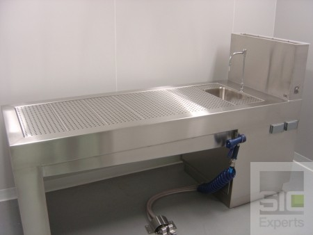 Table de nécropsie laboratoire SIC28338D