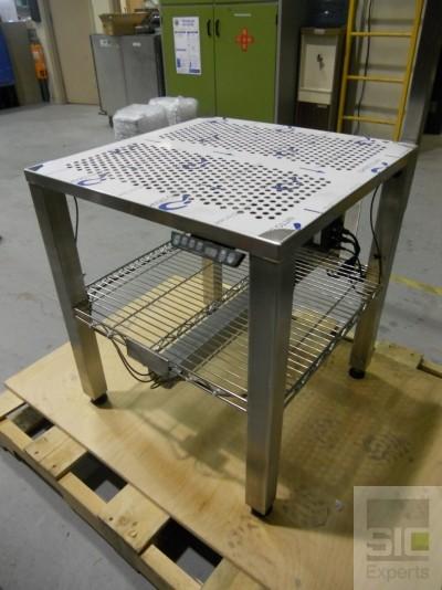 Table inox ajustable électrique