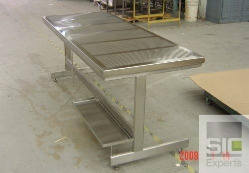 Table laboratoire dessus perforé SIC23863