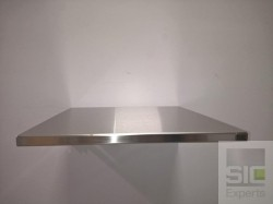 Table Murale Pliante Acier Inox Sic33278 Sic Experts